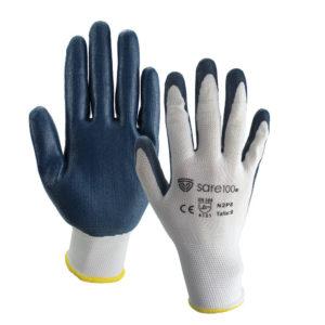guante nitrilo espumado SAFGN2P