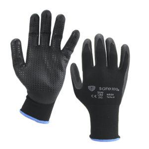 guantes nitrilo microporoso SAFGNS2